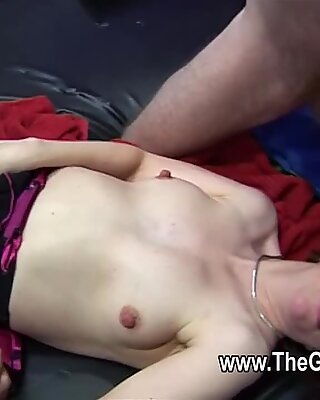 Mature amateurs fucked at an orgy