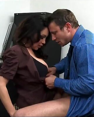 Bossy Milf Dayton Rains Demands Sex From New Hire