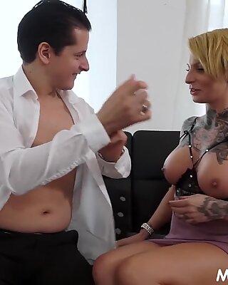 Naughty Cheating Housewife