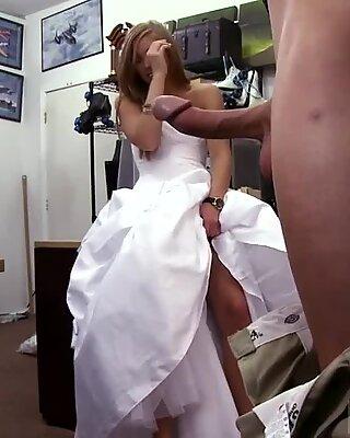 Big tit head and horny school girl fucks teacher A bride s revenge!