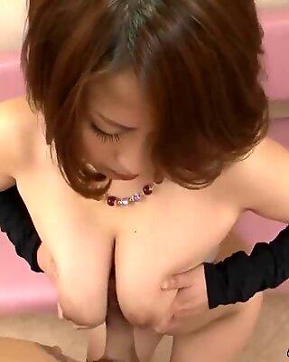gigantic asian globes On Yuki Aida (Uncensored JAV)