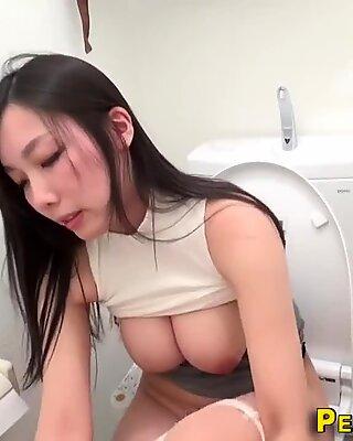 japanese toilet webcam masturbation 2
