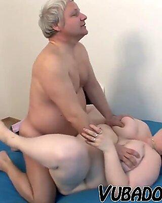 elder, large unexperienced COUPLE FUCKS !!