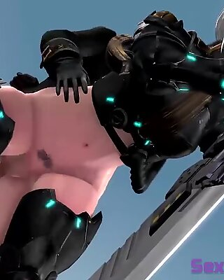 NieR: Automata 2B Loves Anal and Rough Sex Compilation (Music)