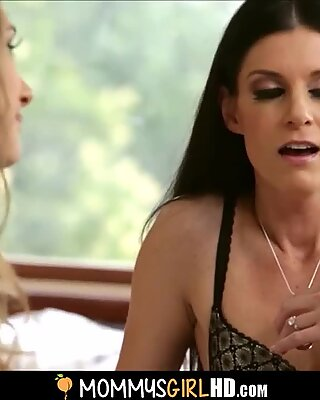 red-hot bony mother India Summer And Daughter Rebel Lynn