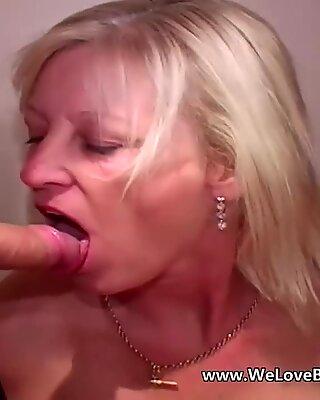 elder mature wifey does bukkake
