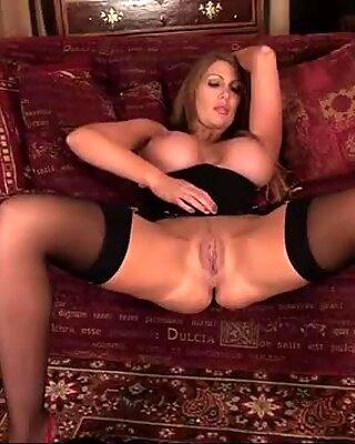Leigh Darby Licks Big Tits