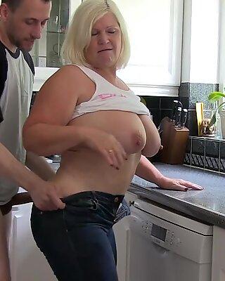 AgedLovE Busty British Blonde Mature Hardcore