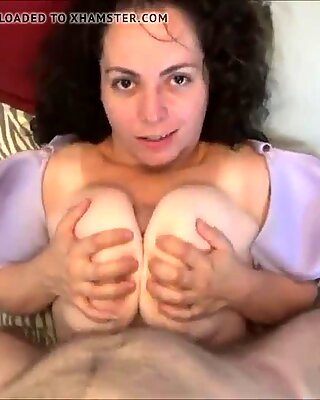 Compilation of Amateur Tittyfucking and Finishing