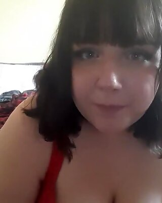 plus-size DEEP gullets AND GAGS ON fake penis