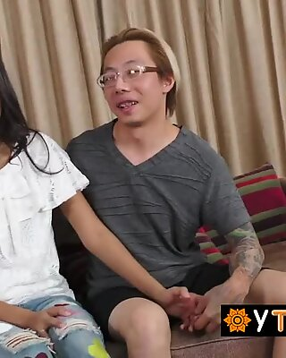 Innocent looking asian hooker gets her pussy drilled deep and hard