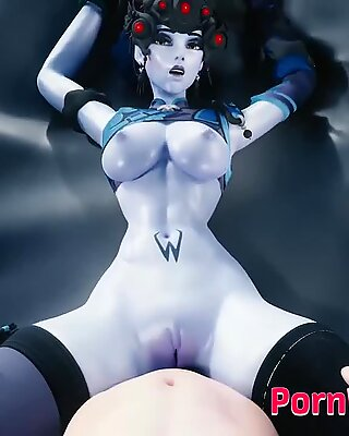 Widowmaker with Tight Cunt 3D Cartoon Compilation