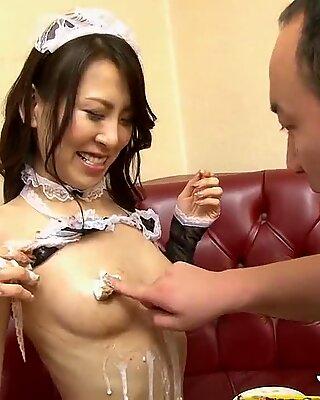 JAVHUB Asuka Tsukamoto gets gangbanged by three guys