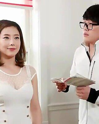 Koreansek mjukporr samling uber-söt realistisk hookup kvinna knullar