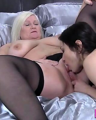 Granny Loves Pussy