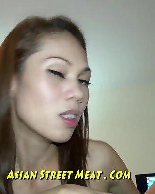 Skin Tight Thai Leggings Demands Ass Fucking