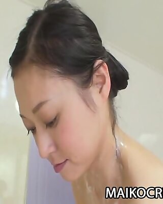 Manami Osaki - Sexy JAV Milf Fucked By A Raunchy Cock