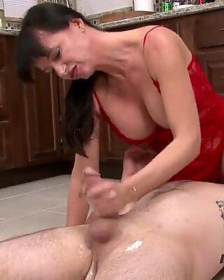 Big Tit Milf Blowjob and Facial