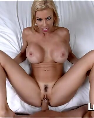Hot MILF gets her mouth filled with cum - Alexis Fawx
