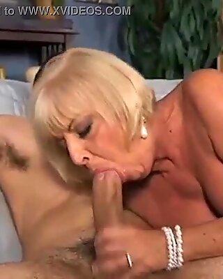 granny cumshot compilation