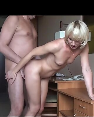 She is my Boss and she Fucks me