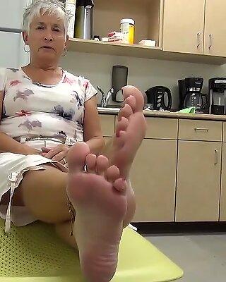 Bästa mormor fötter