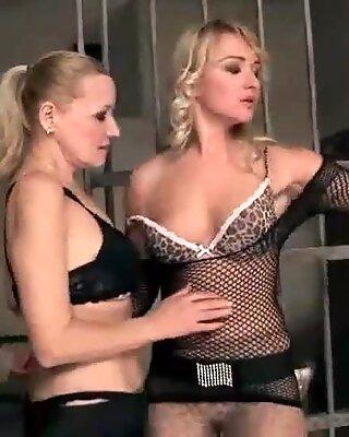 Hot Grannies and Teenies Lesbian Fuck Compilation