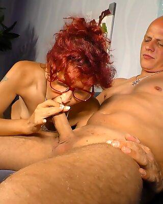 LETSDOEIT - German Redhead Takes On Her Neighbor's Cock