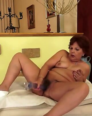 A granny goes from sex-toy to live boy-toy