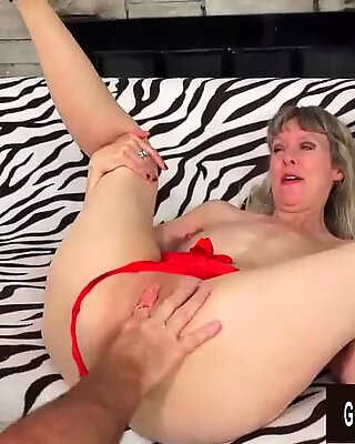 Incredible Mature Sex with Hot British Granny Jamie Foster