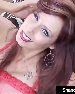 Creampied puma Shanda Fay körd i hennes arsle & amp_ fitta!