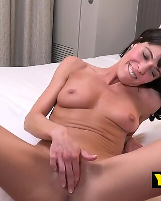 Cougar Lexy comes back with lover to get her cunt squashed in doggystyle - Lexy Cougar