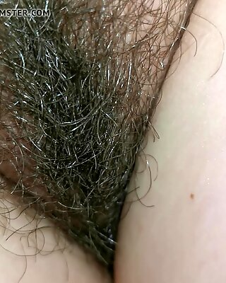 Wife's Relaxed Hairy Pussy