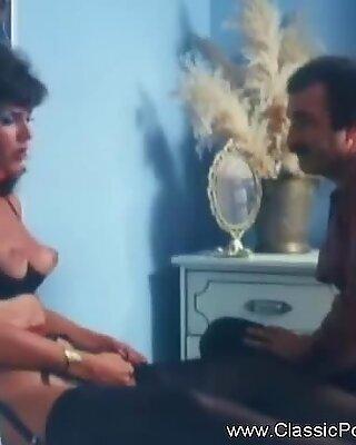 Retro Classic Sex Antics From MILF