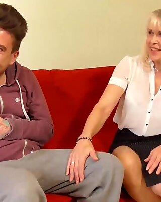 Agedlove Hot Lady Sextasy blev knullad Hårdporr
