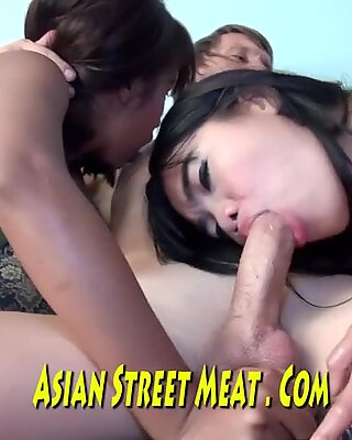 Rings thru Her puffies And A tasty Wet Vagina In Bangkok