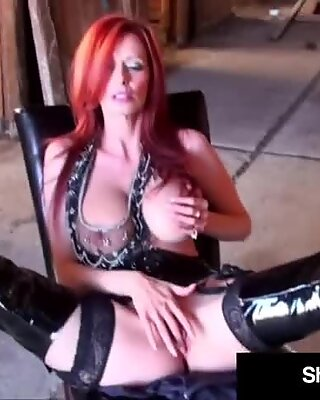 Big Boobed Housewife Shanda Fay Uses Her Cowgirl Coochie To Ride A Cock!
