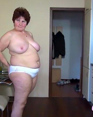 Grandma Loves This Horny Brunette