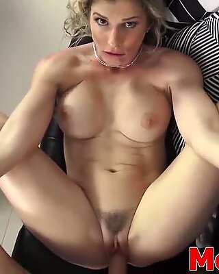 Busty stepmom Cory Chase fucked hard by a stepson