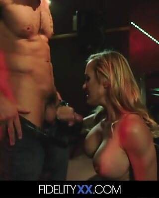 Hot Milf Gets Fucked Hard In A Basement