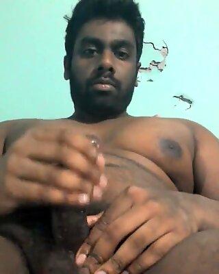 Big indian man