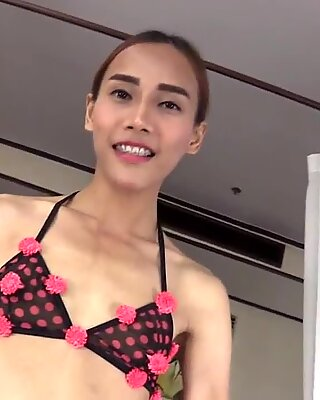 Ladyboy Pink Ass-To-Mouth and Raw Dick Riding