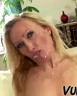 OLD WIFE BEING FUCKED BY HER YOUNGER HUBBY !!