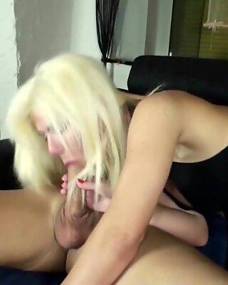 GERMAN MILF NADJA SEDUCE HUSBAND OF SISTER TO FUCK HER