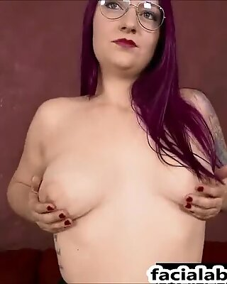 4 spotted slut face fucked, raunchy Painal & double penetration