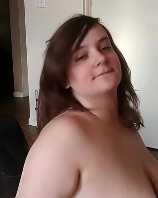 chesty gigantic milf Gets Creampied At Home