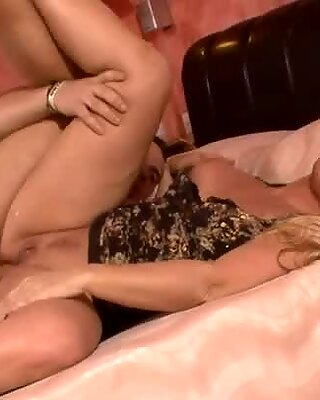 Lustful mom gets banged hard from behind