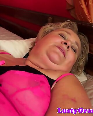 Fat grandma with bigtits pussyfucked