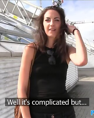 Publicagent горещо wannabe модели мами на гадже с непознат в публично