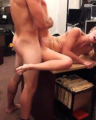 Big tits Blonde stupid tries to sell car, sells herself